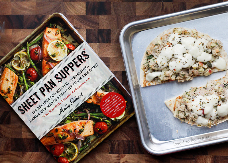 Fancy Tuna Melts from Sheet Pan Suppers // Loves Food, Loves to Eat