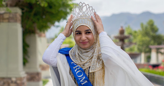A Few Miles From San Bernardino, a Muslim Prom Queen Reigns - The New York Times
