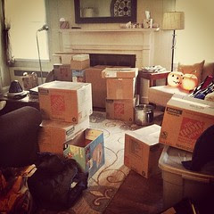 Our new reality...#moving