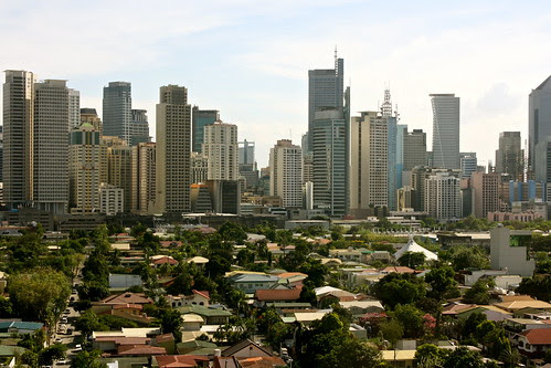 Makati View From The City Hall