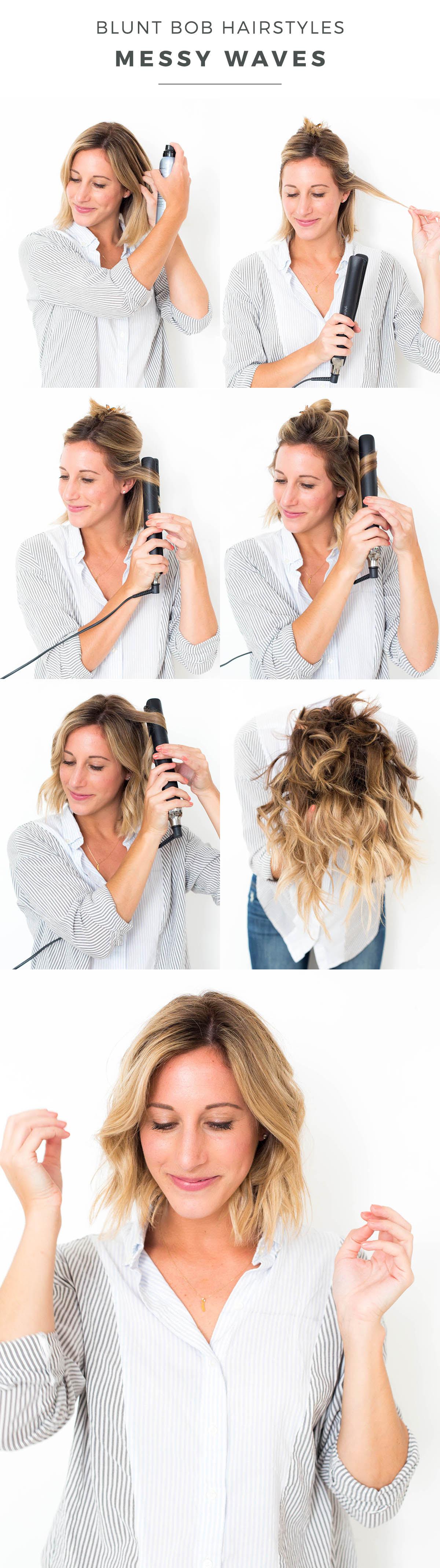 Hairstyles: short messy layered bob hairstyles