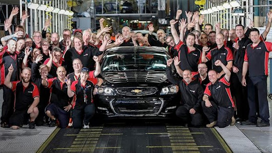 The last Chevrolet SS ever—ever—rolled off the assembly line in Australia yesterday. We eagerly awai