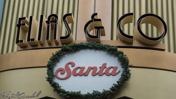 Disneyland Resort, Disney California Adventure, Buena Vista Street, Christmas Time, Christmas, 2014, Santa, Claus