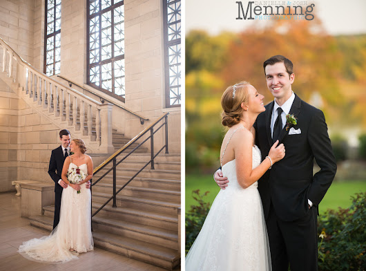 Emily & Jason Wedding | Stambaugh Auditorium Ceremony | The Lake Club Reception