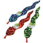 Rhode Island Textile 4767596 16292 Fashion Squeaky Snake Toy