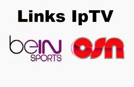 Arabic links- iptv- beIN -MBC OSN- Nilesat Vlc Kodi