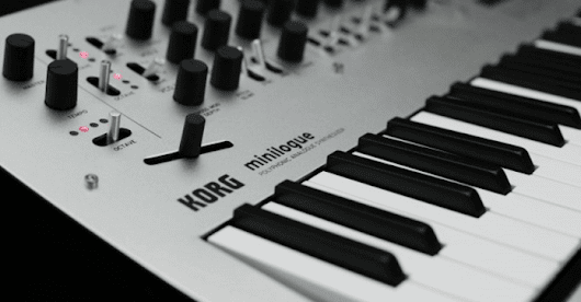 Korg Minilogue Synthesizer First Look