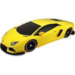 Lamborghini Aventador LP 700-4 Radio-Controlled Vehicle, Yellow