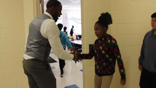 Beloved Teacher Has Different Secret Handshakes for All 40 Students - Good News Network