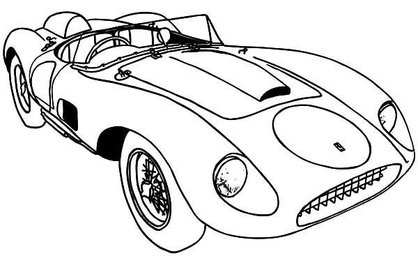Ferrari Car Coloring Pages at GetColorings.com | Free ...