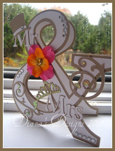 Ampersand Wedding Card (Mr. & Mrs.)