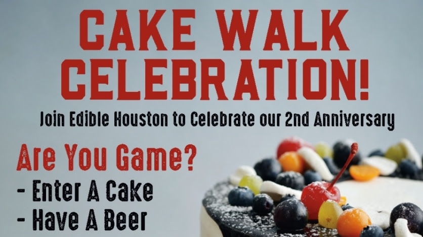 Win Tickets To Our 2nd Anniversary Cake Walk Edible Houston