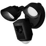 Bot Home Automation 7210347 Floodlight Digital Wireless Outdoor Camera Black