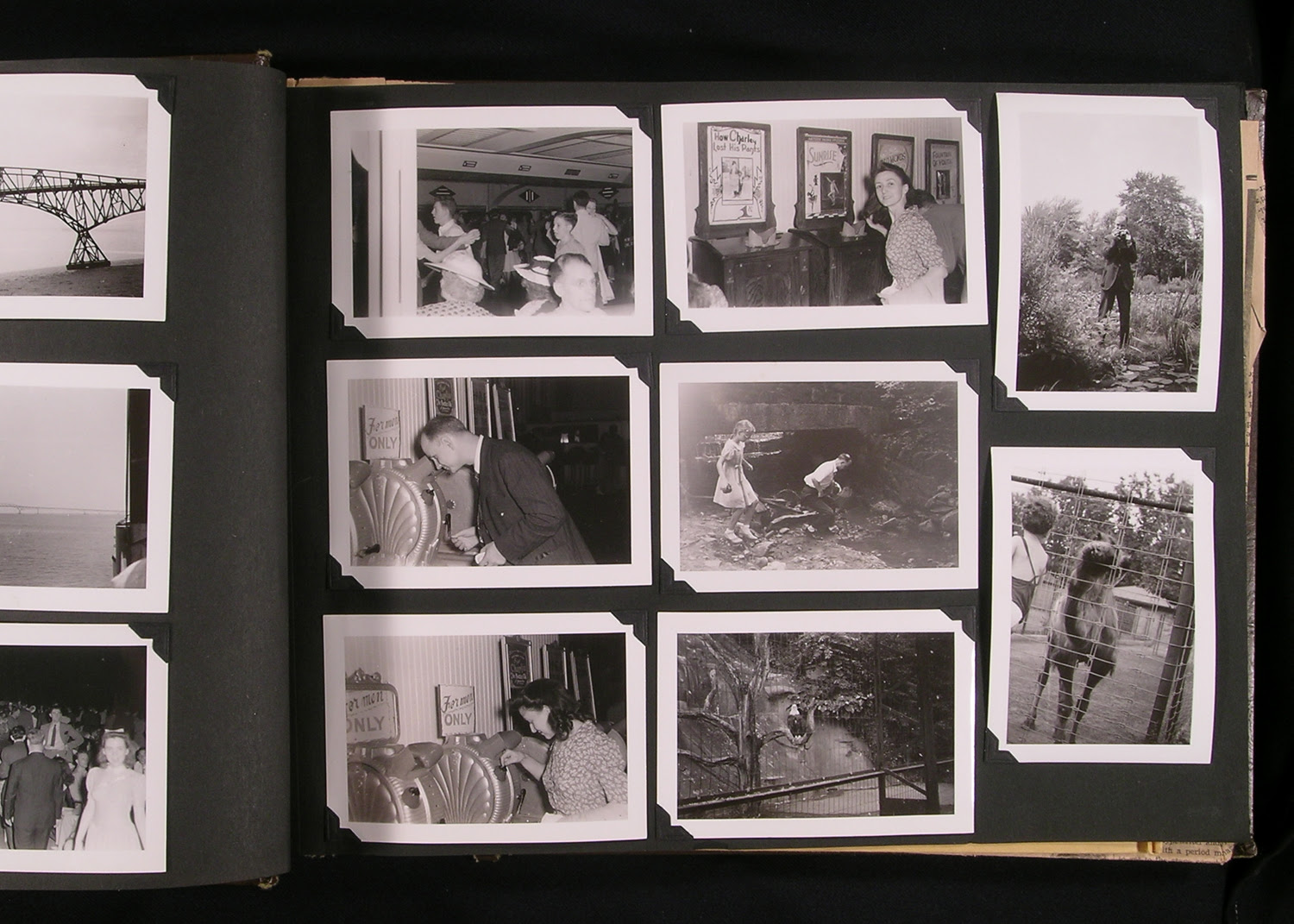 Old Family Album 35 1 Cox Black And White Lab Inc