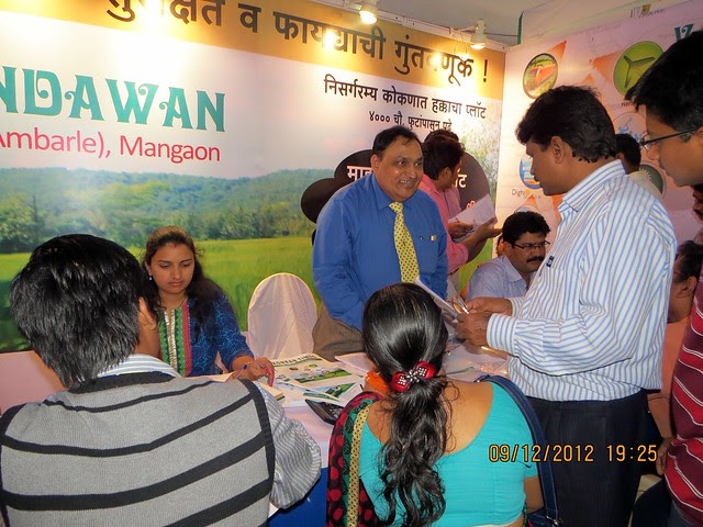 Pune Property Exhibition - Sakal Vastu - Property Expo - December 2012 - 14