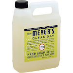 Mrs. Meyer's Clean Day Liquid Hand Soap Refill, Lemon - 33 fl oz jug
