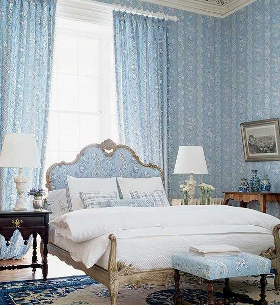 20 Modern Bedroom Ideas in Classic Style, Beautiful Wallpapers and ...