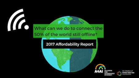 Speed Up Policy Change, Prioritise Public Access: Key Recommendations from our 2017 Affordability Report | Alliance for Affordable Internet