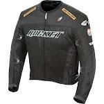 Joe Rocket UFO 2.0 Mens Mesh Motorcycle Jacket, Black