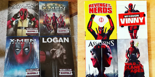 Deadpool Photoshopped Himself In Various Movie Covers (That You Can Purchase!)