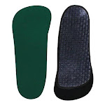 Spenco Rx Thinsole 3/4 Length Shoe Insoles Size 3: 8-9 GREEN