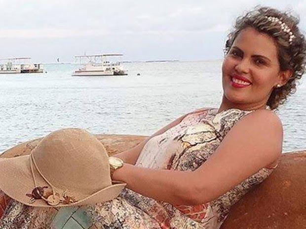Denilsa Dantas morreu na noite desta quinta (31), em Currais Novos (Foto: Arquivo Pessoal)