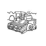 Coloriages à Imprimer Tracteur Numéro 24706