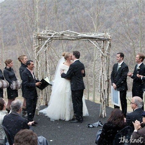 25  best ideas about Winter wedding ceremonies on