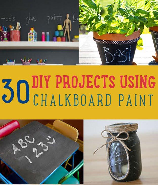 30 DIY Chalkboard Paint Projects   DIY Ready