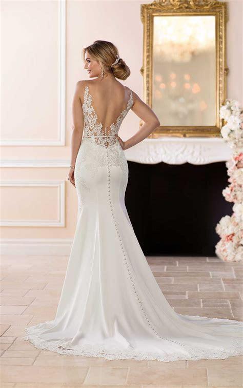 Simple and Sleek Wedding Gown   Stella York Wedding Gowns