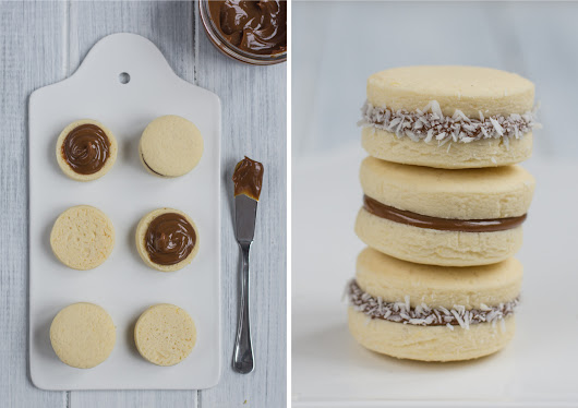 Alfajores - Tender Cookies With Dulce De Leche