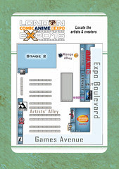 MCM Expo comics floor plan, where I'll be!