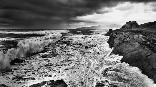 Cape Kiwanda Storm by John Christopher