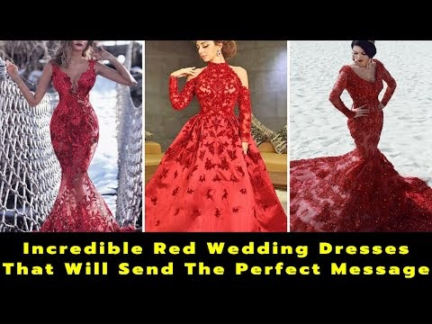 15 Your Lovely Red Wedding Dresses | Red Wedding Gowns | Red Bridal Gowns | Marriage | Bride