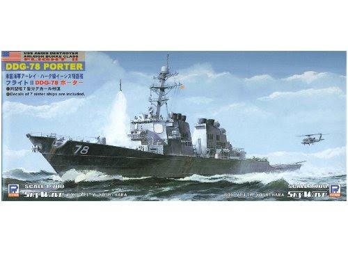 1/700 アメリカ海軍 アーレイ・バーク級 イージス駆逐艦 DDG-78 ポーター (M15)