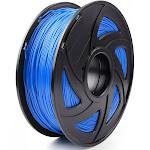 3D Printer Filament 1.75mm PETG 1kg For Drawing Print Pen MakerBot Blue, 3PCS