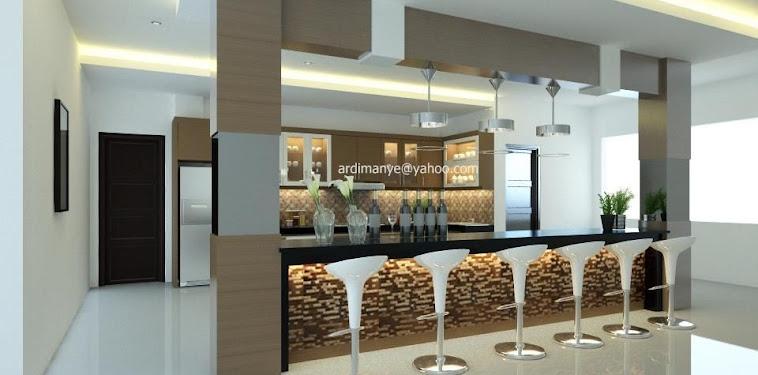 Dekorasi Desain Dapur Mini Bar Terbaru