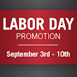 Labor Day Promotion – Gift Card | La Cantera Terrace