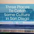 Three Places To Catch Some Culture In San Diego This Month
