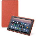 Amazon Fire HD 10 Tablet Case 7th Generation, 2017 Release, Punch Red