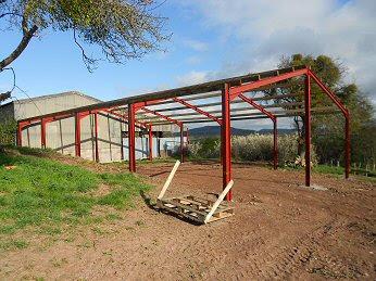 60 X 40 Steel Framed Agricultural Buildings