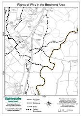 Brookend,Crakemarsh,Combridge,Crash Site