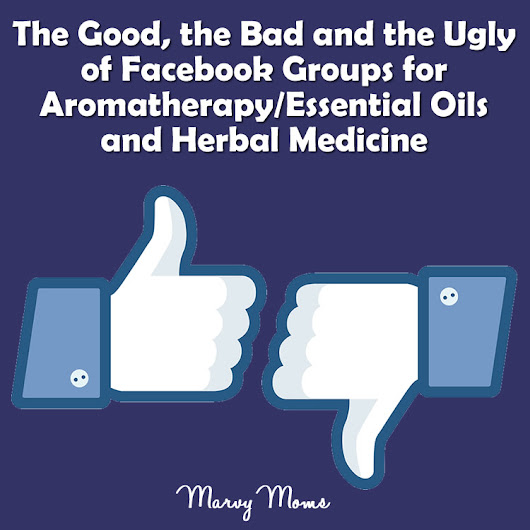The Good, the Bad and the Ugly of Facebook Groups for Aromatherapy/Essential Oils and Herbal Medicine - Marvy Moms
