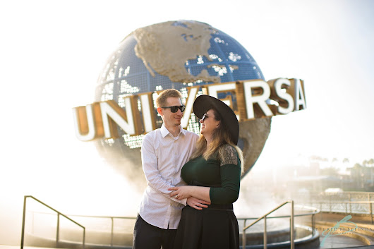 Colin & Taryn | Universal Orlando Engagement | Orlando Wedding Photographer
