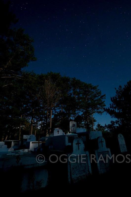 Sagada Cemetery at Night