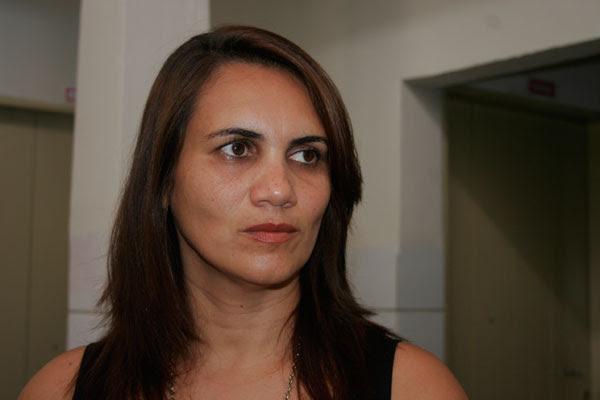 Cristiana Souto, diretora do Departamento de Vigilância à Saúde