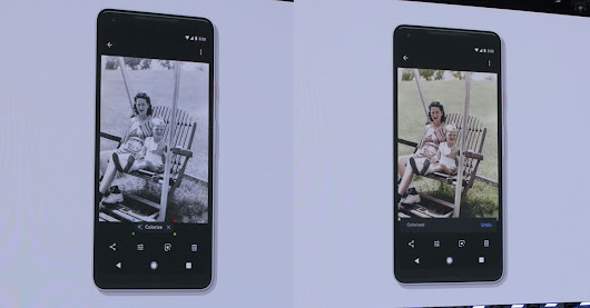Google Photos will soon be able to colorize old photos