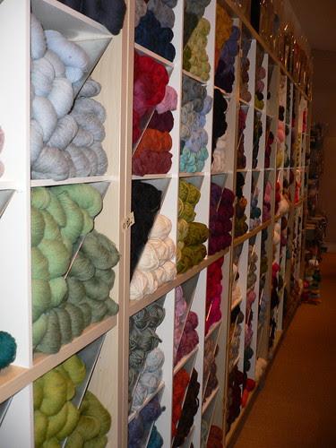 All that yarn...