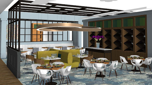 Hilton Columbus Downtown restaurant and bar area getting nearly $500K in renovations - Columbus - Columbus Business First