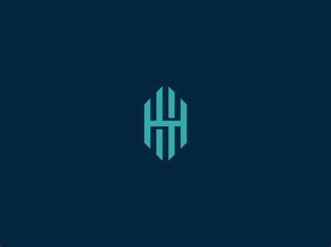 hh monogram monograms logos  logo branding
